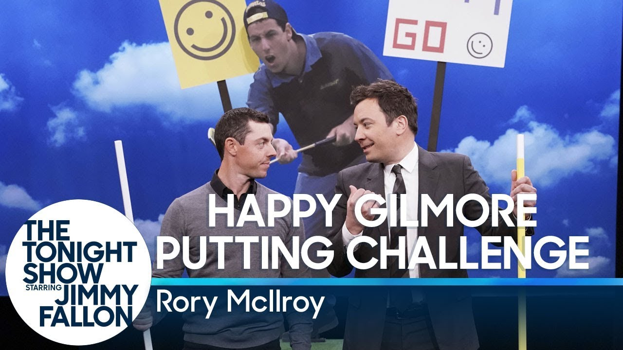 Happy Gilmore Putting Challenge with Rory McIlroy thumbnail