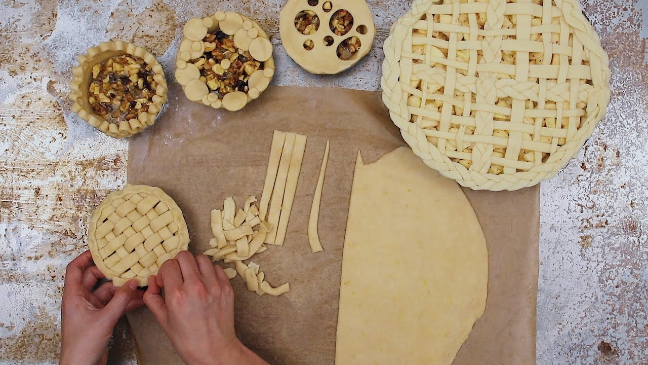 Decorate pies
