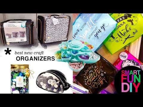 2018 Craft Organizing TRENDS From Creativation! Best Craft Storage Ideas + Scrapbooking Organization
