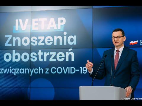 Morawiecki ogłasza zniesienie limitu klientów w sklepach