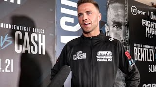 Felix Cash: 'DENZEL BENTLEY & I going to TRY TO TAKE EACH OTHER'S HEADS OFF'