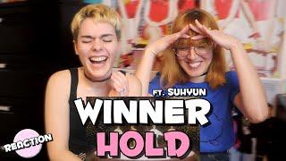 WINNER - HOLD (뜸) (FEAT. SUHYUN) ★ MV REACTION
