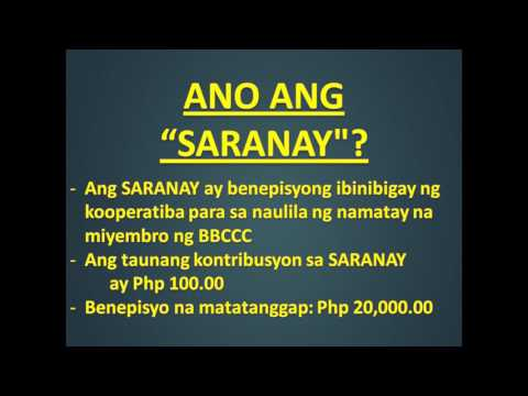 BBCCC Damayan at Saranay