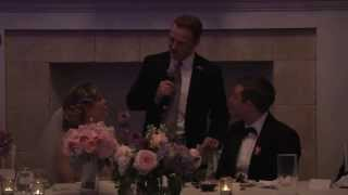 Ultimate Best Man Toast - This Is How It's Done!!