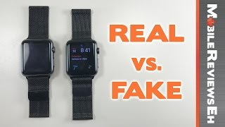 Worth the $240 dollar difference? REAL vs. FAKE Apple Watch Milanese Loop Comparison (Series 4 upd.)