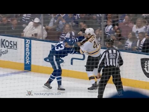 Nazem Kadri vs. David Backes