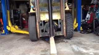 Hyster H40 H Forklift Will Not Go Forward Or Backward Stuck Brakes