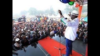 Raila Odinga's one-minute comedy during his Kisii tour