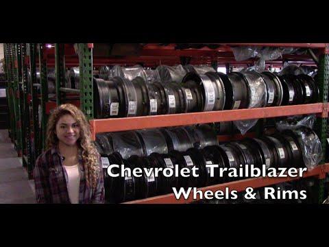 Factory Original Chevrolet Trailblazer Wheels & Chevrolet Trailblazer Rims – OriginalWheels.com