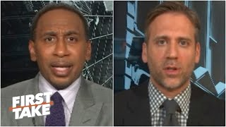 First Take Discusses Donald Trump's Comments On Colin Kaepernick Returning To The NFL