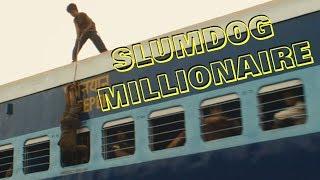 Slumdog Millionaire.Jamal steals baked goods.\Миллионер из трущоб.Джамаль ворует лепёшки.