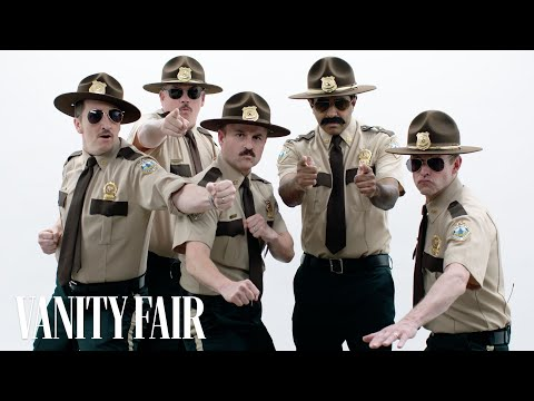 The Cast of Super Troopers Roast Each Other   Vanity Fair
