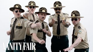 The Cast of Super Troopers Roast Each Other | Vanity Fair - Video Youtube