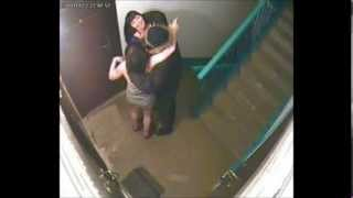 Часть 2! Скрытая камера и агрессивные соседи в подъезде! 480p