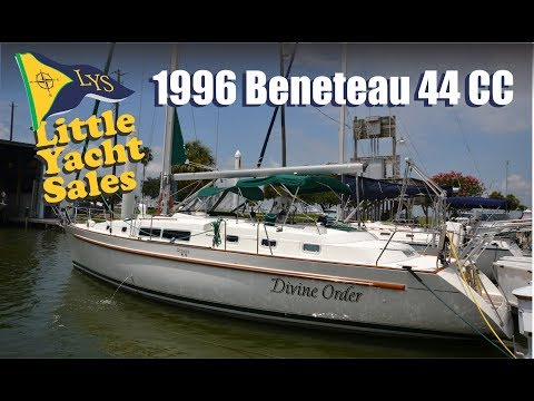 SOLD!!! 1996 Beneteau 44CC Sailboat for sale at Little Yacht Sales, Kemah Texas