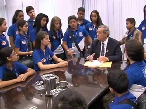 Visita do Parlamento Mirim à Brasília | TVAL