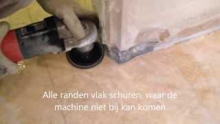 Natuursteen vloeren polijsten marmer polijsten natuurstenen vloer