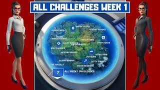 All Week 1 Challenges Guide! - Fortnite Chapter 2 Season 4