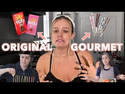 I Tried Making Gourmet Pocky | Amateur Attempts Gourmet Makes