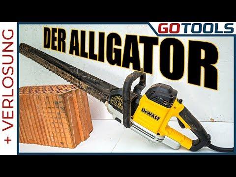 🔥🔥🔥 Der DeWALT Alligator - Die Spezialsäge mit Biss frisst Steine 🔔 inkl. VERLOSUNG 🔔