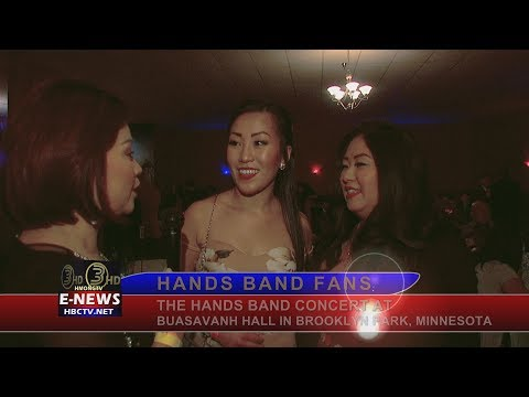 3 HMONG TV: Hands Band concert at Buasavanh Hall on December 1, 2017.
