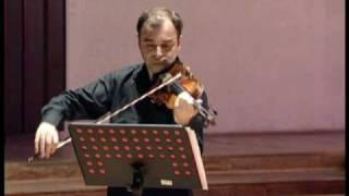 Yuji Takahashi /  Florian Vlashi, violin / REMUSICA 2009