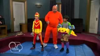 Jessie -- L'allenamento Di Wrestling - Dall'episodio 8