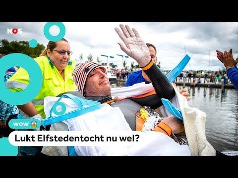 Zuiderzeezwemmers haken aan bij Maarten van der Weijden met sponsorzwemmen