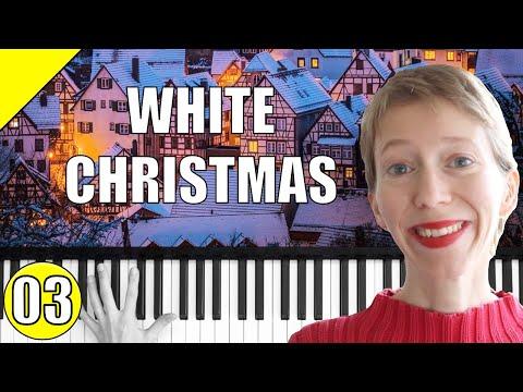 White Christmas – Weihnachtslieder – Piano Tutorial – Teil 3