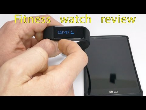 Pedometer and Fitness tracker bracelet with call/text notifications