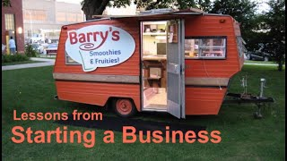 What I learned Starting a Business - Food Vendor Trailer / Food truck / Concession Stand Trailer