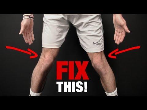 Die Ansätze zwischen der Finger des Beines