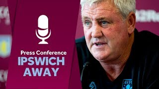 Press conference: Ipswich away