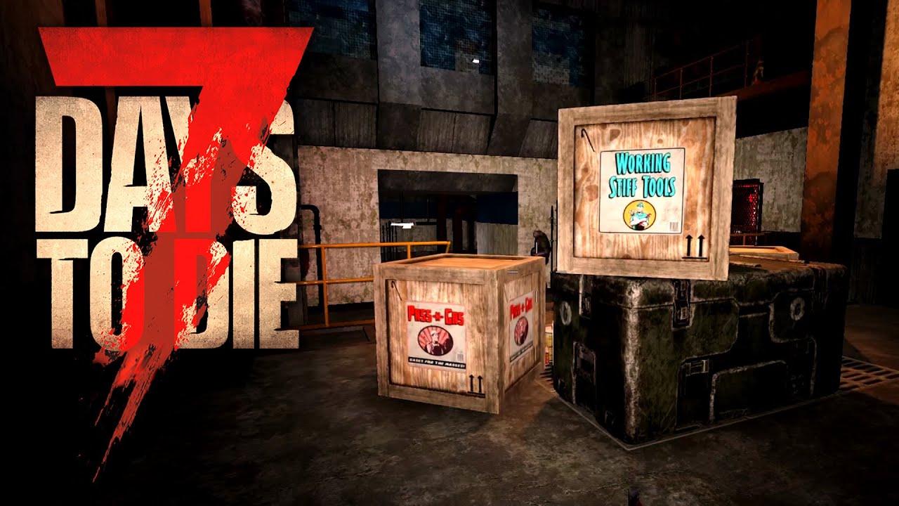 7 Days to Die 17 | Wasserwerk & Bunker looten | Alpha 19 Gameplay Deutsch Tutorial Beginner thumbnail