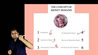 3.1 The Concept of Money Demand l Eco Revision | Buy Pen Drive Classes at Conferenza.in