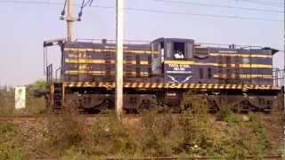 preview picture of video 'Tata Steel Shunter Locomotive No. 60'