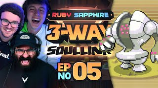 TRY NOT TO LAUGH! • Pokémon Ruby & Sapphire 3-Way Soul Link • 05