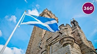 Wallace Monument   360 video