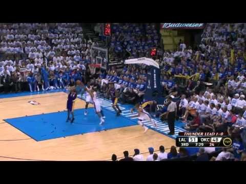 Thunder Storms Past Lakers