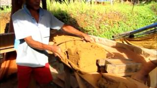 preview picture of video 'Brick Making Factory, Melak, East Kalimantan'