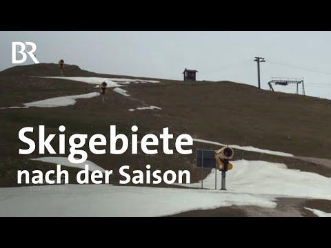 Skigebiete nach der Saison - Skifahren vs. Naturschutz   Zwischen Spessart und Karwendel   BR