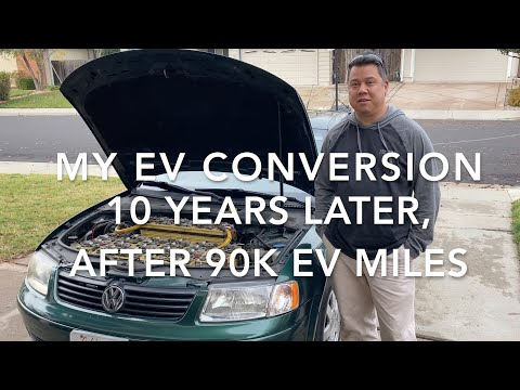 Guy turns his 2008 Passat into an electric car and reviews all of the modifications in great detail. Has driven it for 10 years and 90k miles!