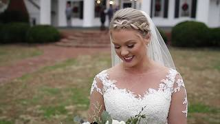 """Here Tonight"" by Brett Young WEDDING VIDEO of Gretchen + Mitch filmed at Hollyfield Manor Christmas"