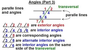 Geometry: Ch 3 - Names & Symbols (3 of 8) Angles (Part 3)