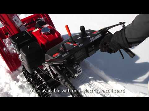 Honda Power Equipment HSS1332ATD in Redding, California - Video 1