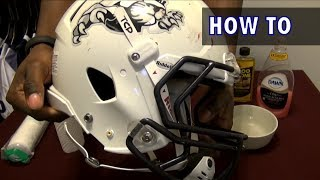 How to Clean a Football Helmet - Ep. 137
