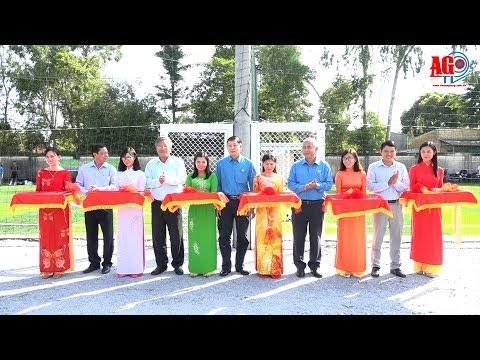 Khánh thành trụ sở làm việc Công đoàn các Khu công nghiệp tỉnh và các sân thể thao