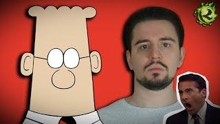 ДИЛБЕРТ - хороший мультфильм ПРО ОФИС и анимационные тренды 90-ых
