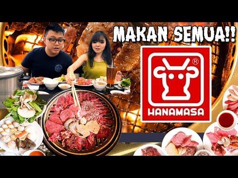 Makan Di HANAMASA SEPUASNYA & Tips Makan All You Can Eat !!