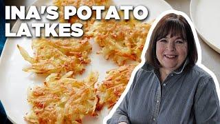 Ina's Potato Latkes | Food Network